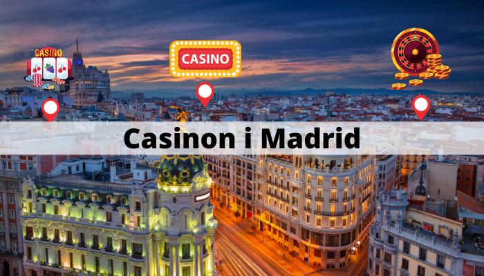 Casinon i Madrid